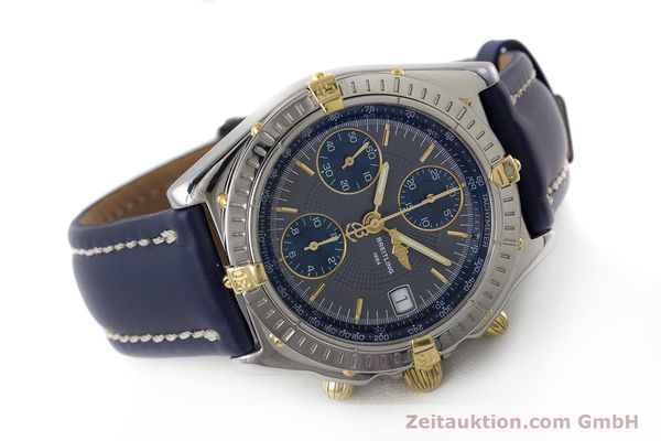 Used luxury watch Breitling Chronomat chronograph steel / gold automatic Kal. B13 ETA 7750 Ref. B13050.1  | 161174 03