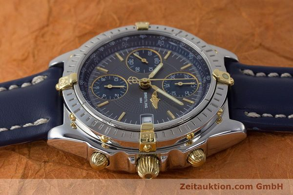 Used luxury watch Breitling Chronomat chronograph steel / gold automatic Kal. B13 ETA 7750 Ref. B13050.1  | 161174 05
