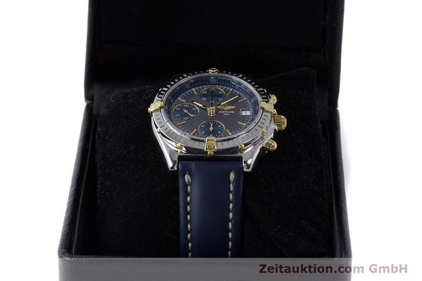 Used luxury watch Breitling Chronomat chronograph steel / gold automatic Kal. B13 ETA 7750 Ref. B13050.1  | 161174 07
