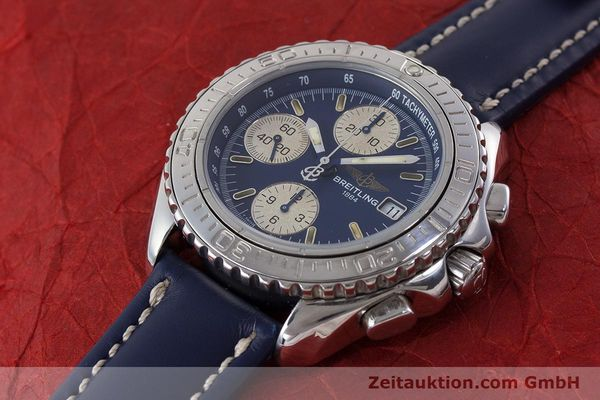Used luxury watch Breitling Shark chronograph steel automatic Kal. B13 ETA 7750 Ref. A13051  | 161176 01