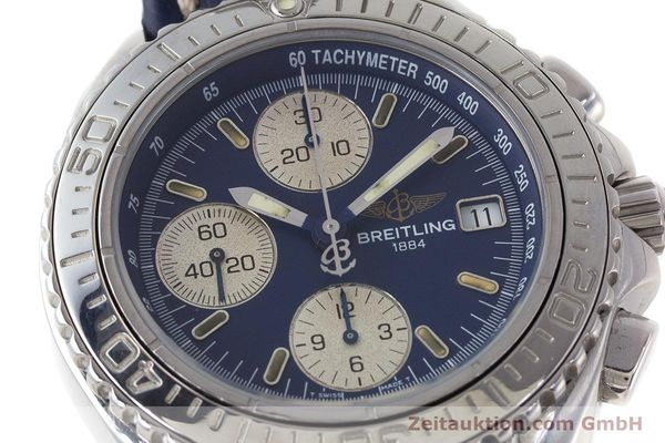 Used luxury watch Breitling Shark chronograph steel automatic Kal. B13 ETA 7750 Ref. A13051  | 161176 02