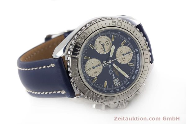 Used luxury watch Breitling Shark chronograph steel automatic Kal. B13 ETA 7750 Ref. A13051  | 161176 03