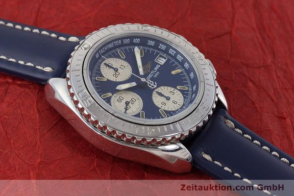 Used luxury watch Breitling Shark chronograph steel automatic Kal. B13 ETA 7750 Ref. A13051  | 161176 12