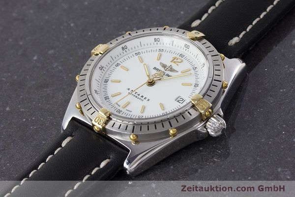 Used luxury watch Breitling Antares steel / gold automatic Kal. B10 ETA 2892-2 Ref. B10047  | 161178 01