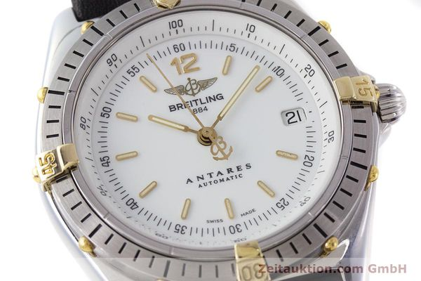 Used luxury watch Breitling Antares steel / gold automatic Kal. B10 ETA 2892-2 Ref. B10047  | 161178 02