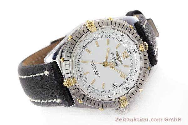 Used luxury watch Breitling Antares steel / gold automatic Kal. B10 ETA 2892-2 Ref. B10047  | 161178 03