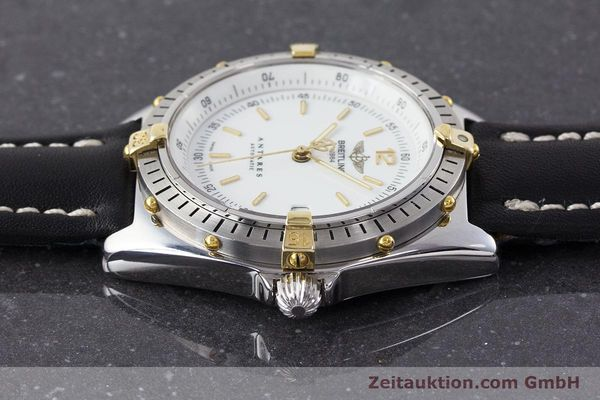Used luxury watch Breitling Antares steel / gold automatic Kal. B10 ETA 2892-2 Ref. B10047  | 161178 05