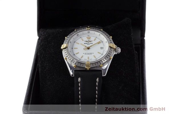 Used luxury watch Breitling Antares steel / gold automatic Kal. B10 ETA 2892-2 Ref. B10047  | 161178 07