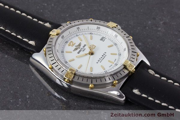 Used luxury watch Breitling Antares steel / gold automatic Kal. B10 ETA 2892-2 Ref. B10047  | 161178 13