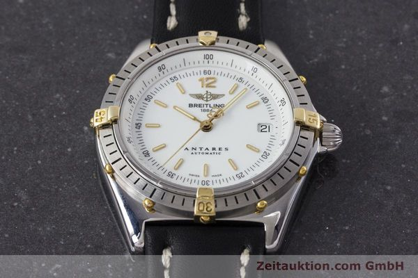 Used luxury watch Breitling Antares steel / gold automatic Kal. B10 ETA 2892-2 Ref. B10047  | 161178 14