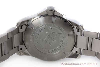 LONGINES HYDRO CONQUEST STEEL AUTOMATIC KAL. L 633.5 ETA 2824-2 LP: 1050EUR [161180]