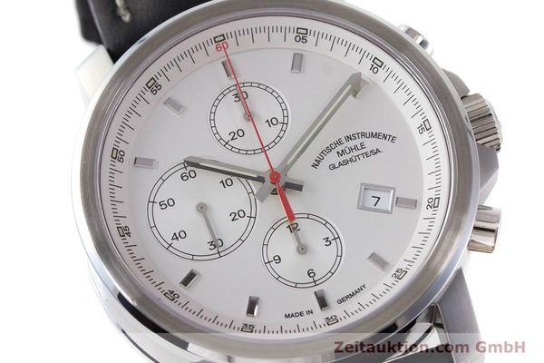 Used luxury watch Mühle 29er Chronograph chronograph steel automatic Kal. ETA 7750 Ref. M1-25-40  | 161182 02