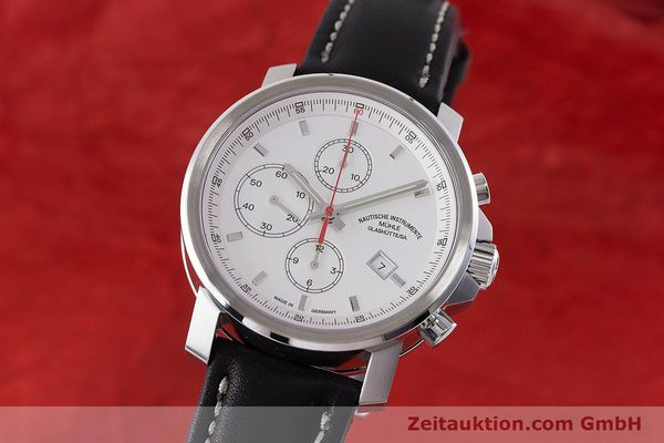 Used luxury watch Mühle 29er Chronograph chronograph steel automatic Kal. ETA 7750 Ref. M1-25-40  | 161182 04