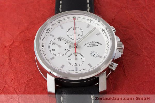 Used luxury watch Mühle 29er Chronograph chronograph steel automatic Kal. ETA 7750 Ref. M1-25-40  | 161182 16