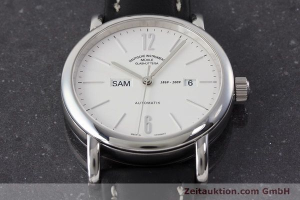 Used luxury watch Mühle Robert Mühle steel automatic Kal. Sellita SW220 Ref. M1-10-65 LIMITED EDITION | 161183 16