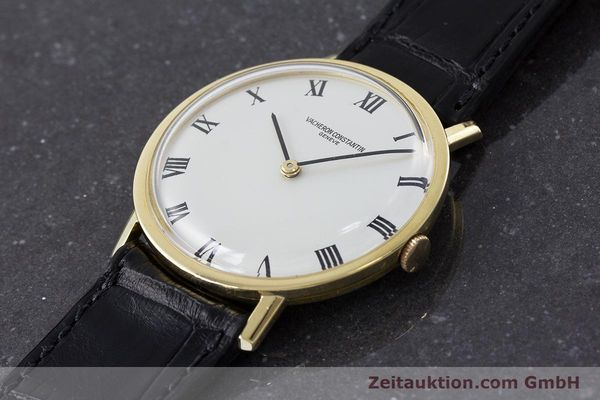 Used luxury watch Vacheron & Constantin * 18 ct gold manual winding Kal. 1014 Ref. 7811 VINTAGE  | 161184 01