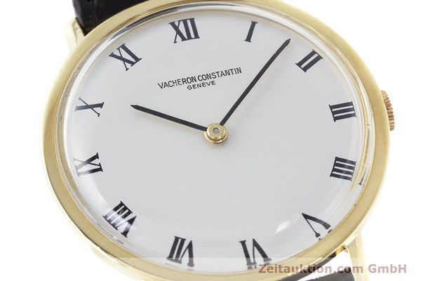 Used luxury watch Vacheron & Constantin * 18 ct gold manual winding Kal. 1014 Ref. 7811 VINTAGE  | 161184 02