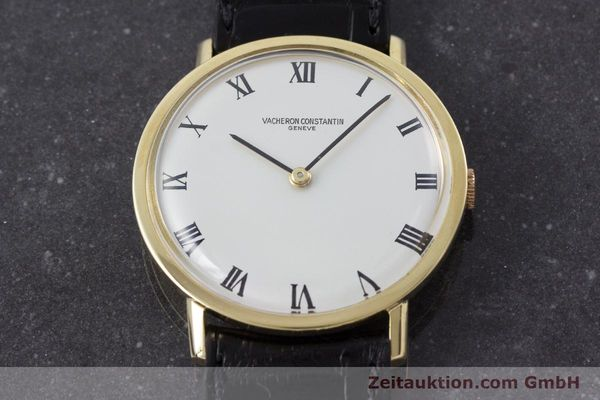 Used luxury watch Vacheron & Constantin * 18 ct gold manual winding Kal. 1014 Ref. 7811 VINTAGE  | 161184 14