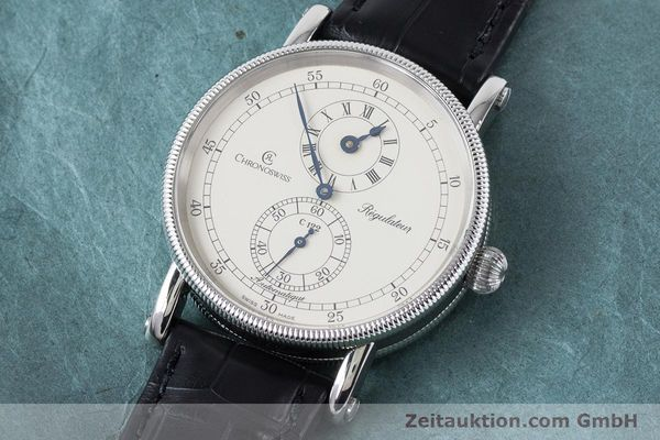 Used luxury watch Chronoswiss Regulateur steel automatic Kal. 122 Ref. CH1223  | 161187 01