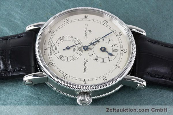 Used luxury watch Chronoswiss Regulateur steel automatic Kal. 122 Ref. CH1223  | 161187 05