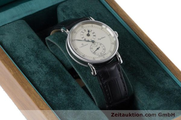 Used luxury watch Chronoswiss Regulateur steel automatic Kal. 122 Ref. CH1223  | 161187 07