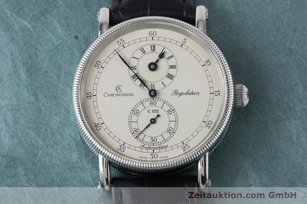 Used luxury watch Chronoswiss Regulateur steel automatic Kal. 122 Ref. CH1223  | 161187 16