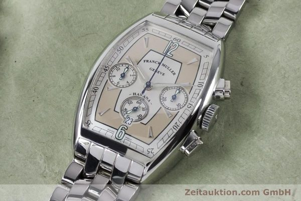 Used luxury watch Franck Muller Havana chronograph steel automatic Kal. 1185 Ref. 5850CCHVAT  | 161190 01