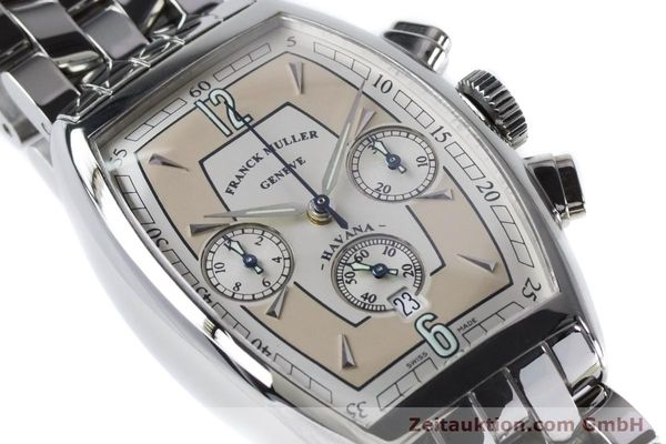 Used luxury watch Franck Muller Havana chronograph steel automatic Kal. 1185 Ref. 5850CCHVAT  | 161190 02