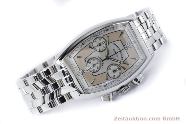 Used luxury watch Franck Muller Havana chronograph steel automatic Kal. 1185 Ref. 5850CCHVAT  | 161190 03