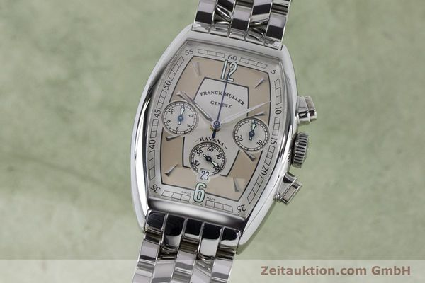 Used luxury watch Franck Muller Havana chronograph steel automatic Kal. 1185 Ref. 5850CCHVAT  | 161190 04
