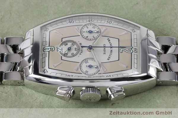 Used luxury watch Franck Muller Havana chronograph steel automatic Kal. 1185 Ref. 5850CCHVAT  | 161190 05