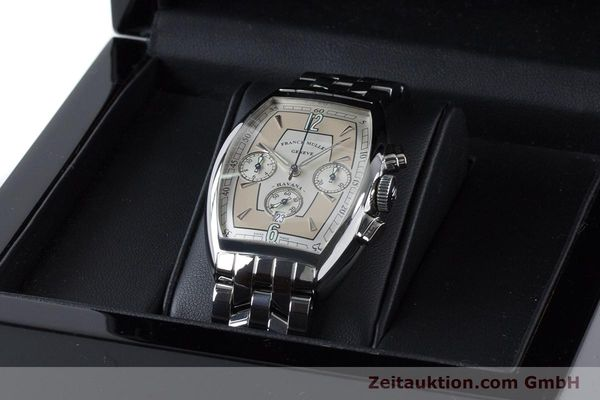 Used luxury watch Franck Muller Havana chronograph steel automatic Kal. 1185 Ref. 5850CCHVAT  | 161190 07