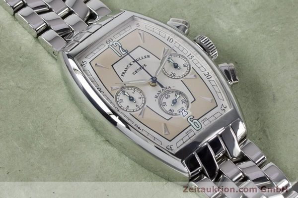 Used luxury watch Franck Muller Havana chronograph steel automatic Kal. 1185 Ref. 5850CCHVAT  | 161190 13