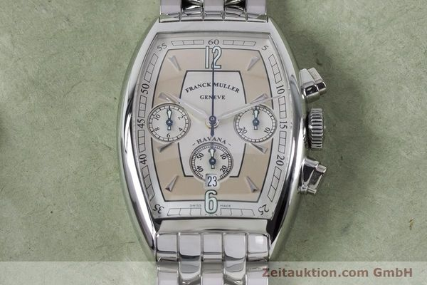 Used luxury watch Franck Muller Havana chronograph steel automatic Kal. 1185 Ref. 5850CCHVAT  | 161190 14