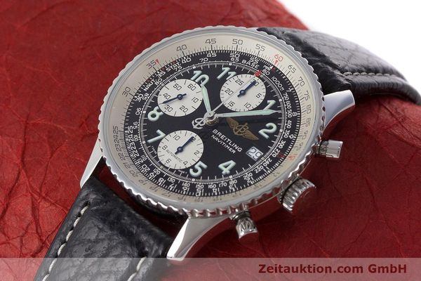 Used luxury watch Breitling Navitimer chronograph steel automatic Kal. B13 ETA 7750 Ref. A13022.1  | 161191 01