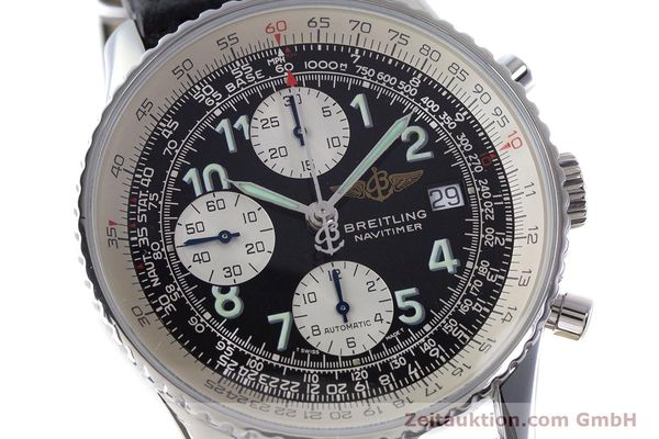 Used luxury watch Breitling Navitimer chronograph steel automatic Kal. B13 ETA 7750 Ref. A13022.1  | 161191 02