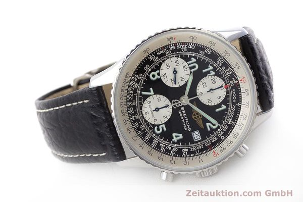 Used luxury watch Breitling Navitimer chronograph steel automatic Kal. B13 ETA 7750 Ref. A13022.1  | 161191 03