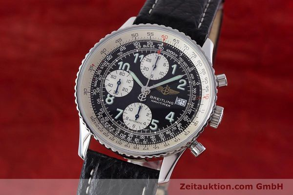 Used luxury watch Breitling Navitimer chronograph steel automatic Kal. B13 ETA 7750 Ref. A13022.1  | 161191 04