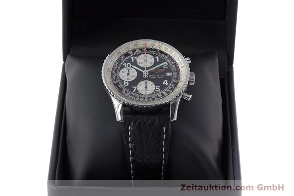 Used luxury watch Breitling Navitimer chronograph steel automatic Kal. B13 ETA 7750 Ref. A13022.1  | 161191 07