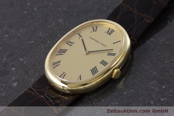 Used luxury watch Audemars Piguet * 18 ct gold manual winding Kal. 2052  | 161202 01