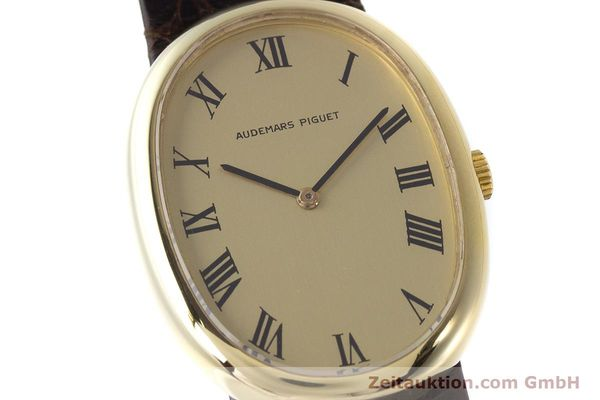 Used luxury watch Audemars Piguet * 18 ct gold manual winding Kal. 2052  | 161202 02