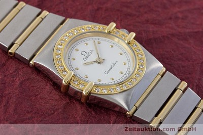 OMEGA CONSTELLATION ACIER / OR QUARTZ KAL. ETA 976.001 LP: 5900EUR [161203]