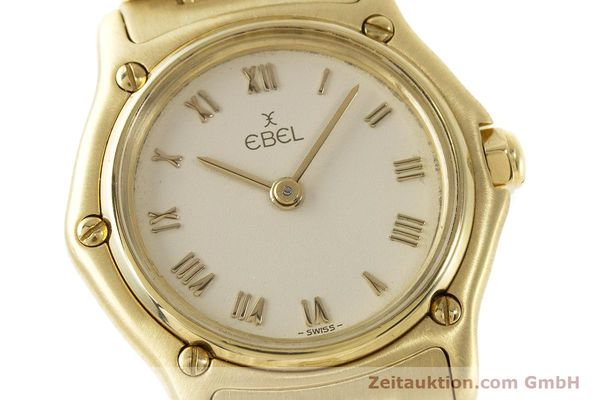 Used luxury watch Ebel 1911 18 ct gold quartz Kal. 57 Ref. 8057901  | 161204 02