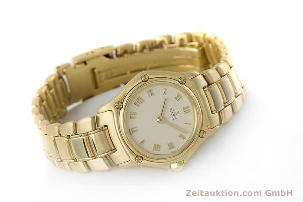 Used luxury watch Ebel 1911 18 ct gold quartz Kal. 57 Ref. 8057901  | 161204 03
