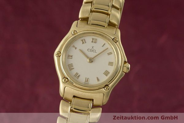 EBEL 1911 18 CT GOLD QUARTZ KAL. 57 LP: 11800EUR [161204]