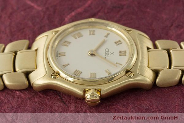 Used luxury watch Ebel 1911 18 ct gold quartz Kal. 57 Ref. 8057901  | 161204 05