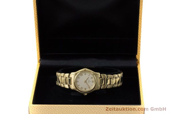 Used luxury watch Ebel 1911 18 ct gold quartz Kal. 57 Ref. 8057901  | 161204 07