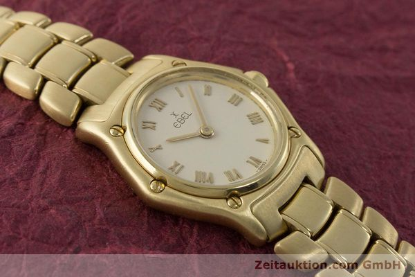 Used luxury watch Ebel 1911 18 ct gold quartz Kal. 57 Ref. 8057901  | 161204 13