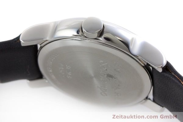 Used luxury watch Bvlgari Solotempo steel quartz Kal. MVE001 MBBL Ref. ST29S  | 161205 08