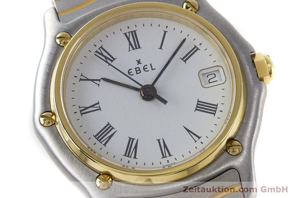 Used luxury watch Ebel Classic Wave steel / gold quartz Kal. 87 Ref. 1087121  | 161206 02